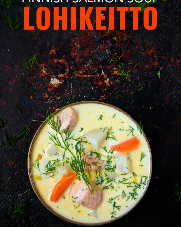 Lohikeitto – An Easy Finnish Salmon Soup