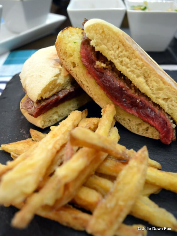 The prego steak sandwich in Portugal is one of the best sandwiches in the world.