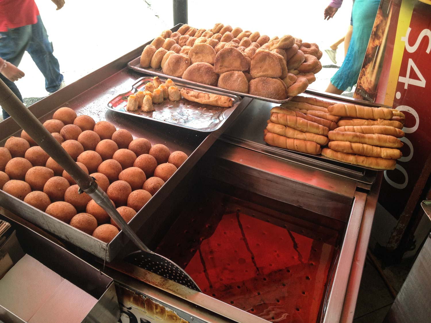 Pandebono is a traditional Colombian food that you must try.