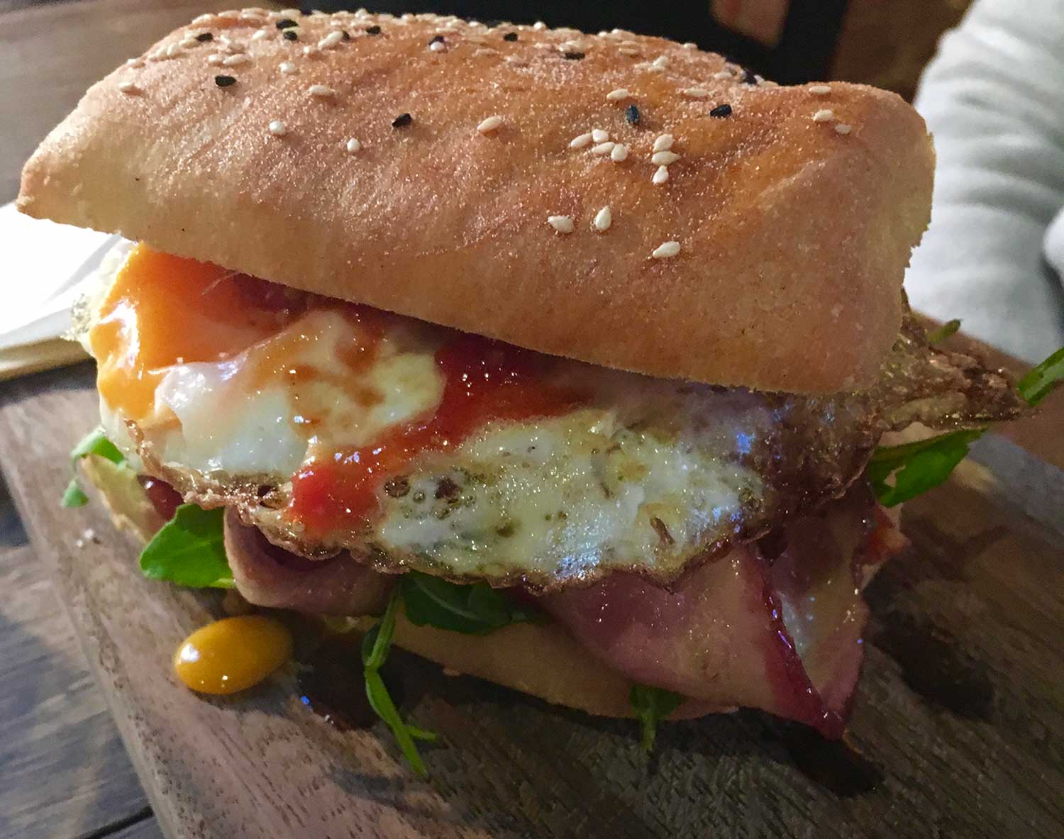The Bacon and Egg roll from Australia is one of the most iconic, best sandwiches in the world.