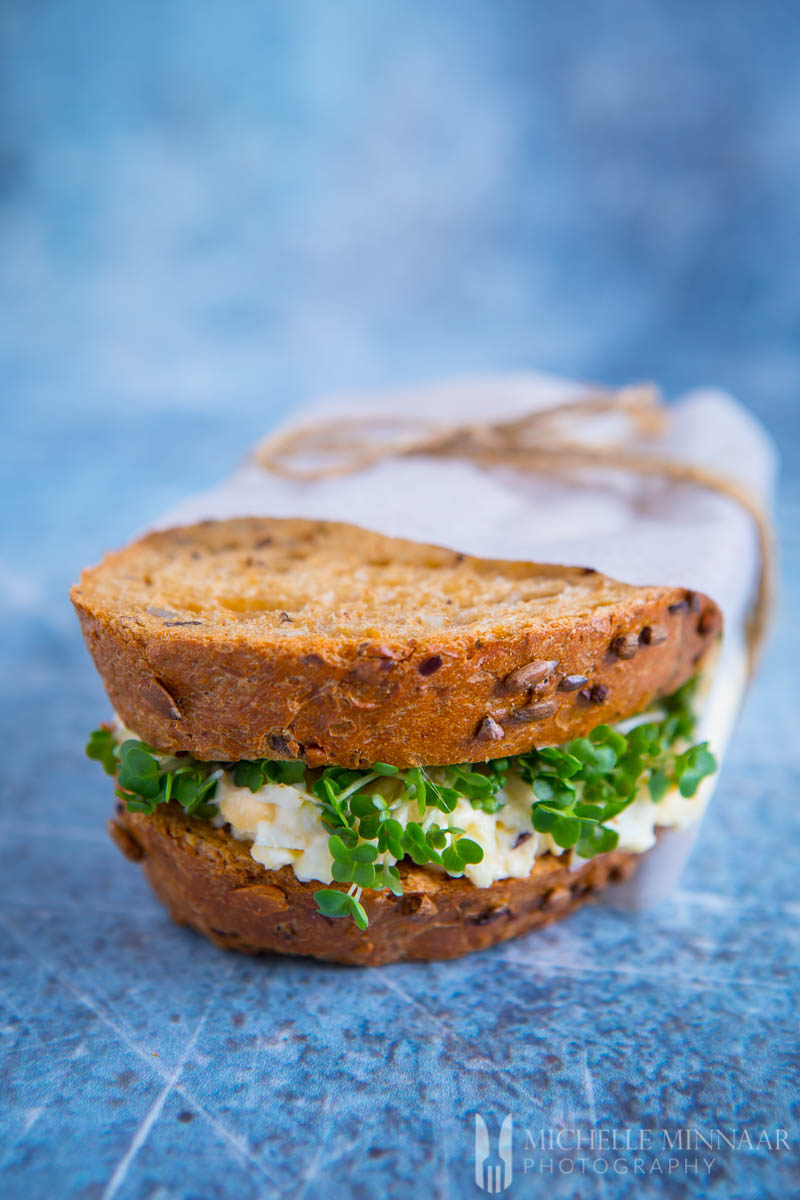 England's egg and cress sandwich is one of the best sandwiches in the world.