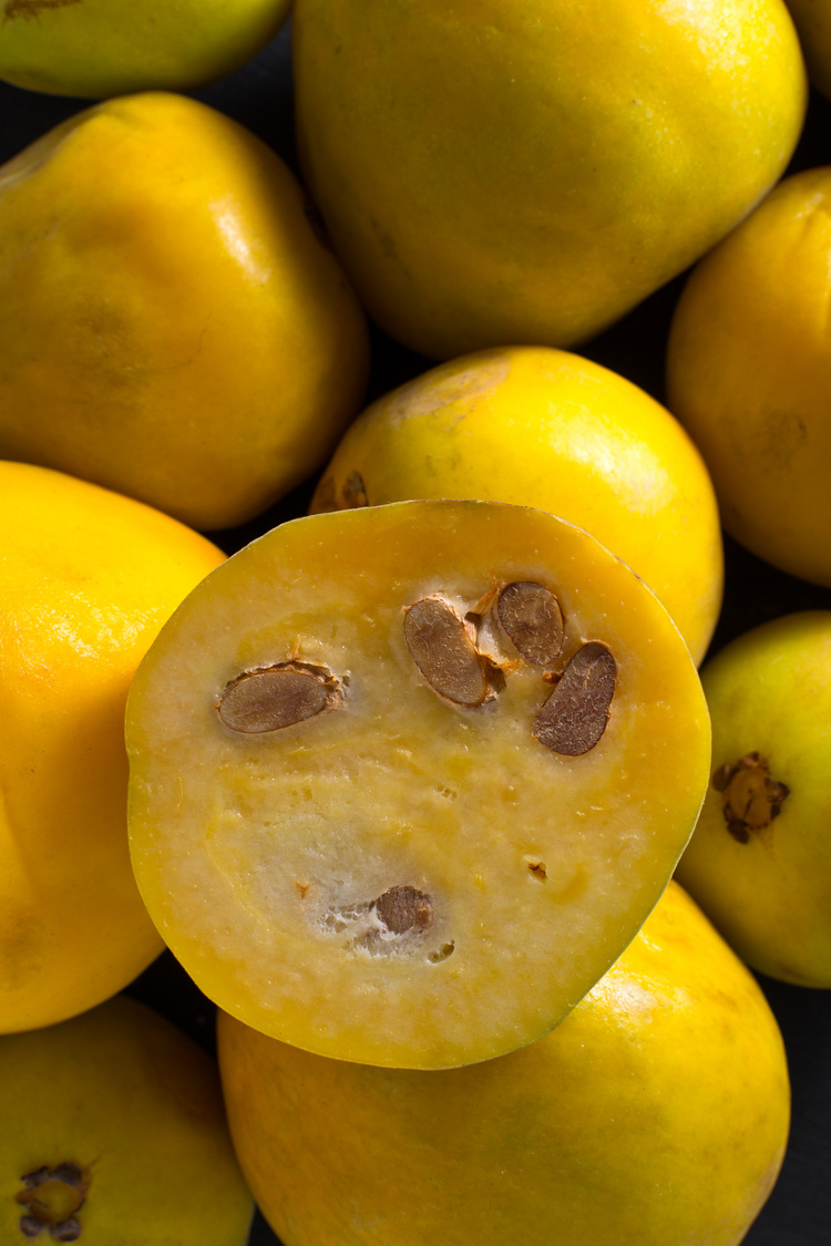 The araza fruit is one of the tastiest exotic fruits and comes from the Amazon jungle in South America.