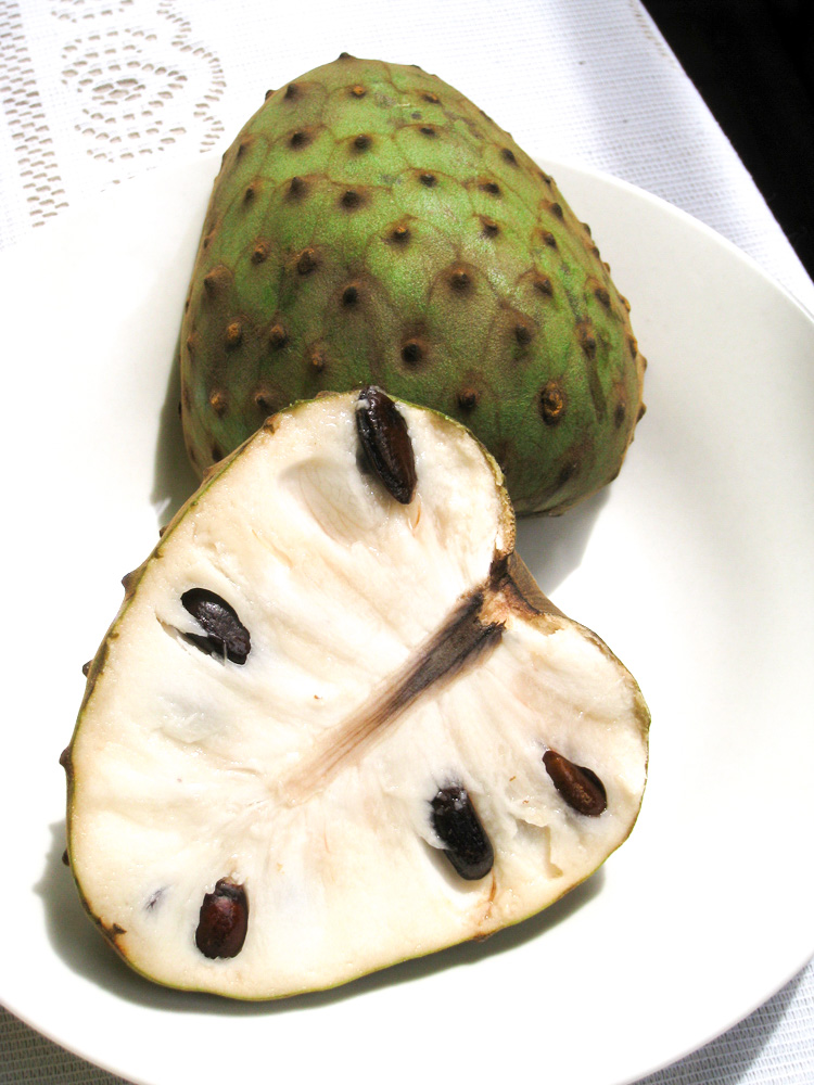 Cherimoya is one of the tastiest exotic fruits and originally from Colombia, Ecuador, Peru and Bolivia.