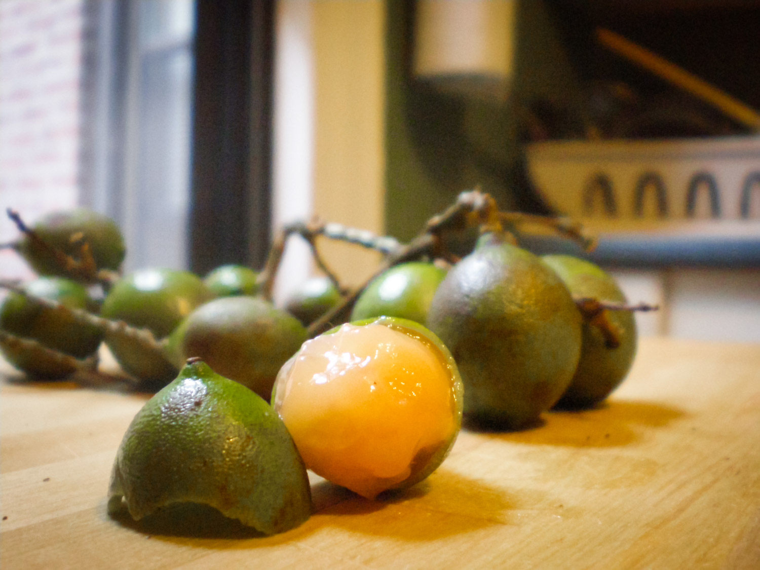 Quenepa also known as Spanish Lime is one of the tastiest exotic fruits. It is common in the Caribbean, Central and South America.