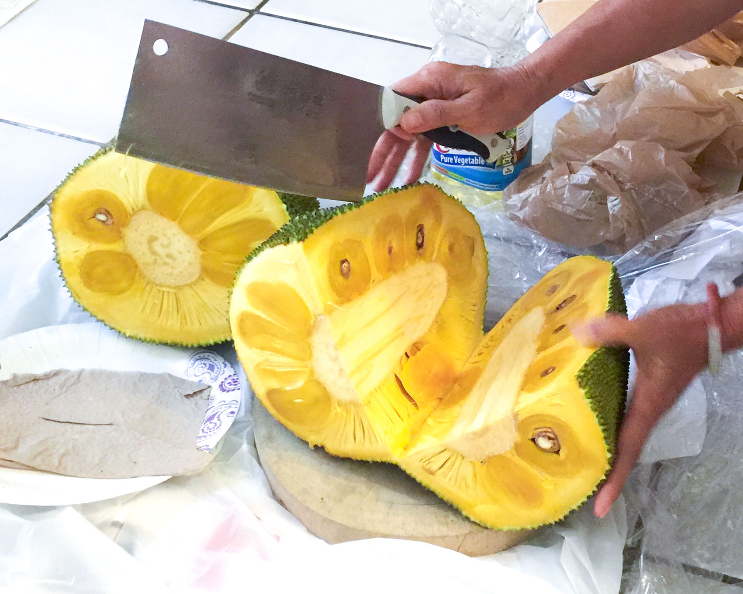 Jackfruit is one of the delicious exotic fruits originally from India but is now found all over Asia.