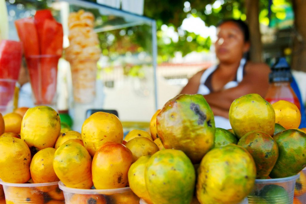 Ciruela aka jocote is one of the tastiest exotic fruits, it is common in Mexico, Central America and Brazil.