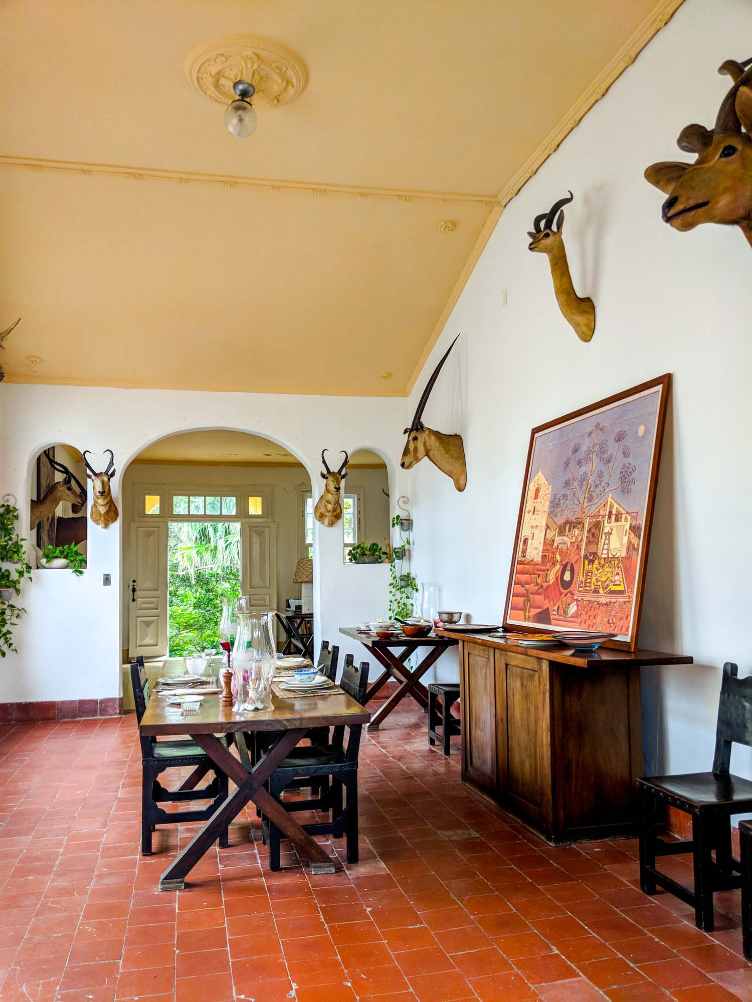 Finca Vigia in Havana is one of the tourist spots for Hemingway in Cuba.