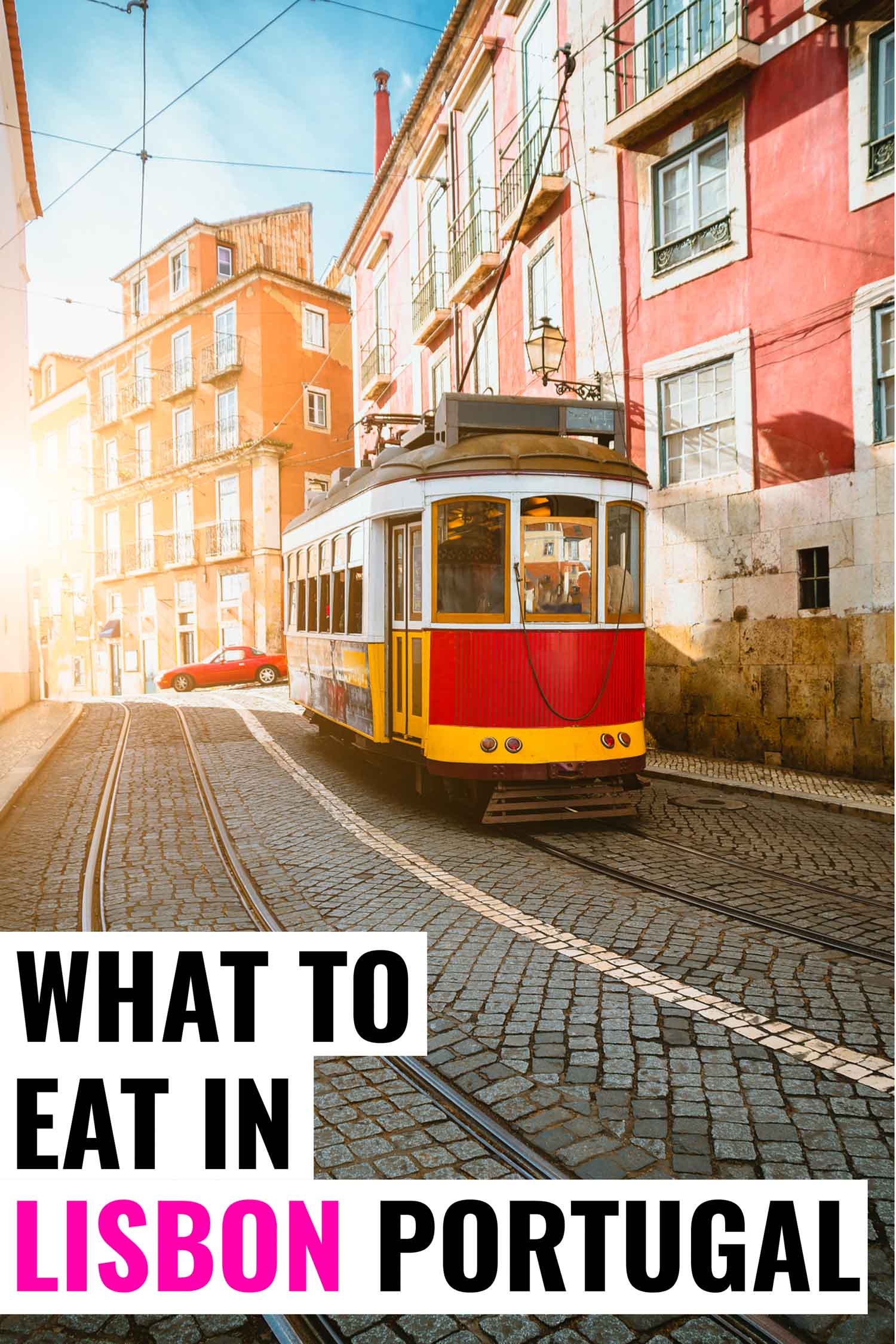 Food in Lisbon you don't want to miss on your travel to Portugal.