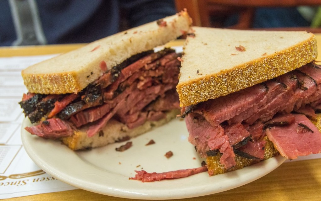 Pastrami on Rye from NYC is one of the most iconic, best sandwiches in the world.