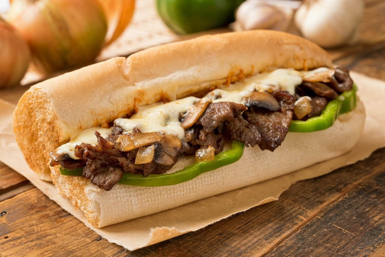 The Philly cheesesteak is an iconic American food and one of the best sandwiches in the world.