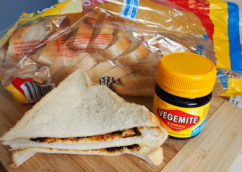 The vegemite sandwich is from Australia and one of the iconic best sandwiches in the world.