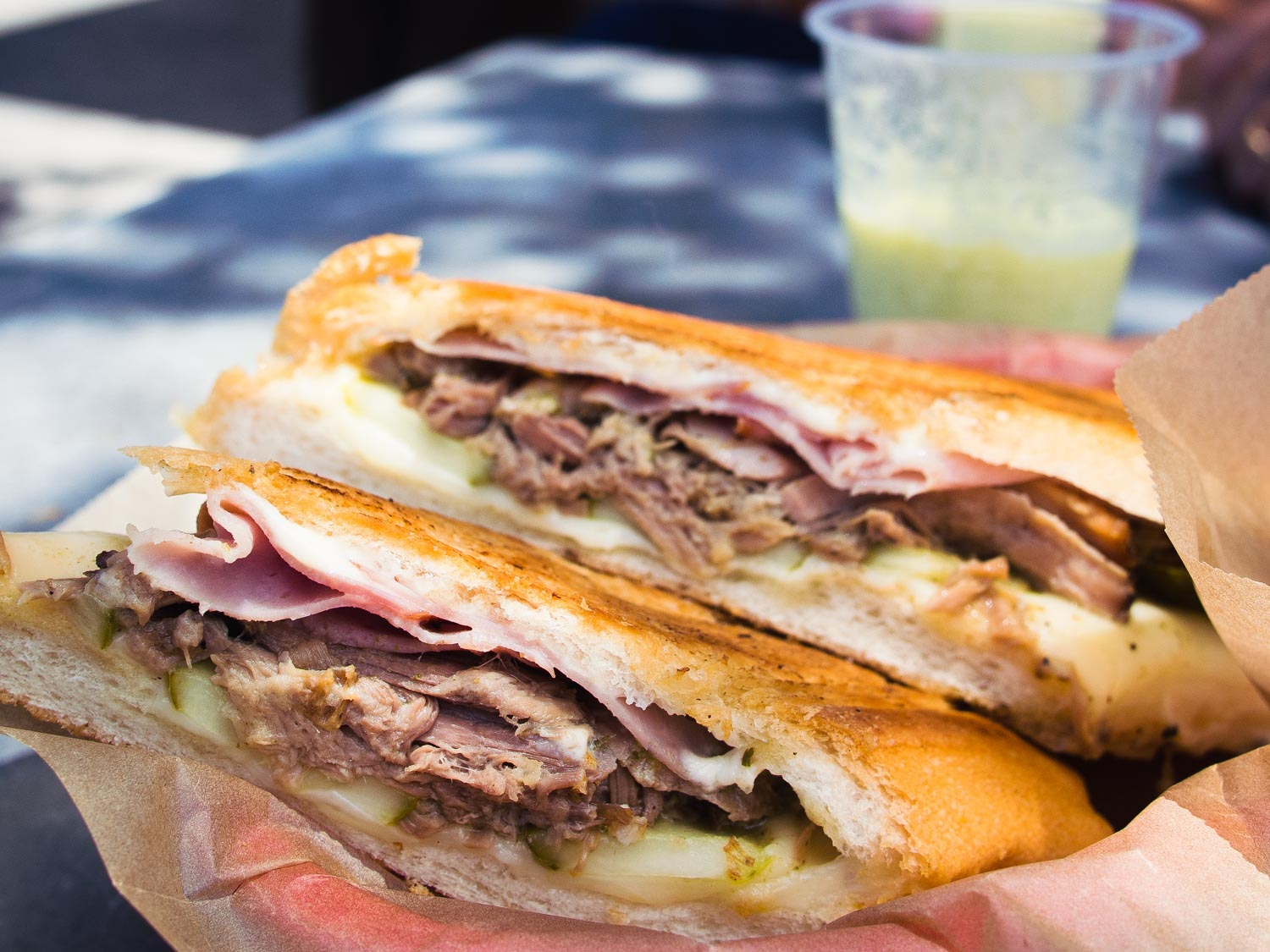 The Cuban sandwich is one of the best sandwiches in the world.