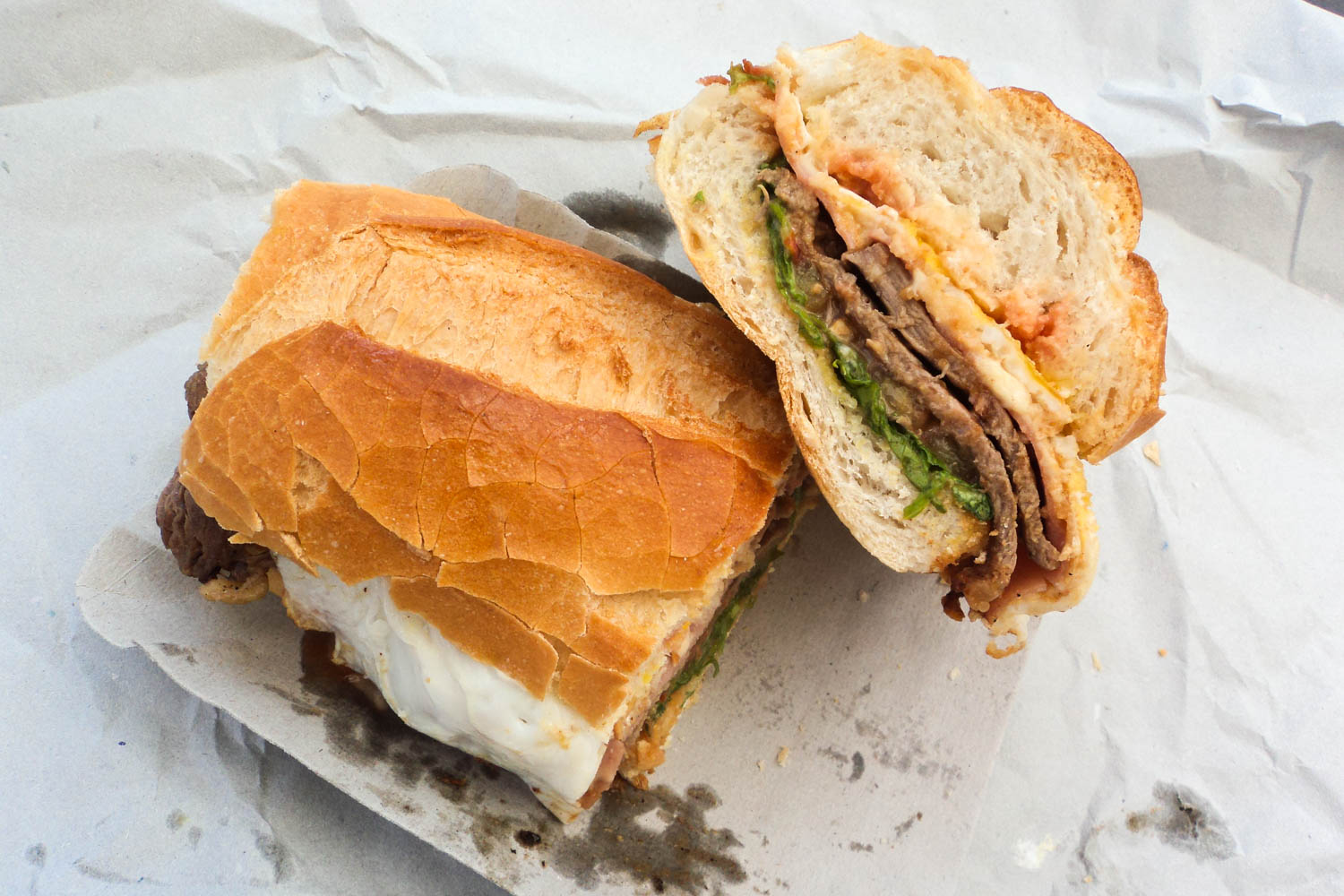 The lomito from Argentina is one of the best sandwiches in the world.