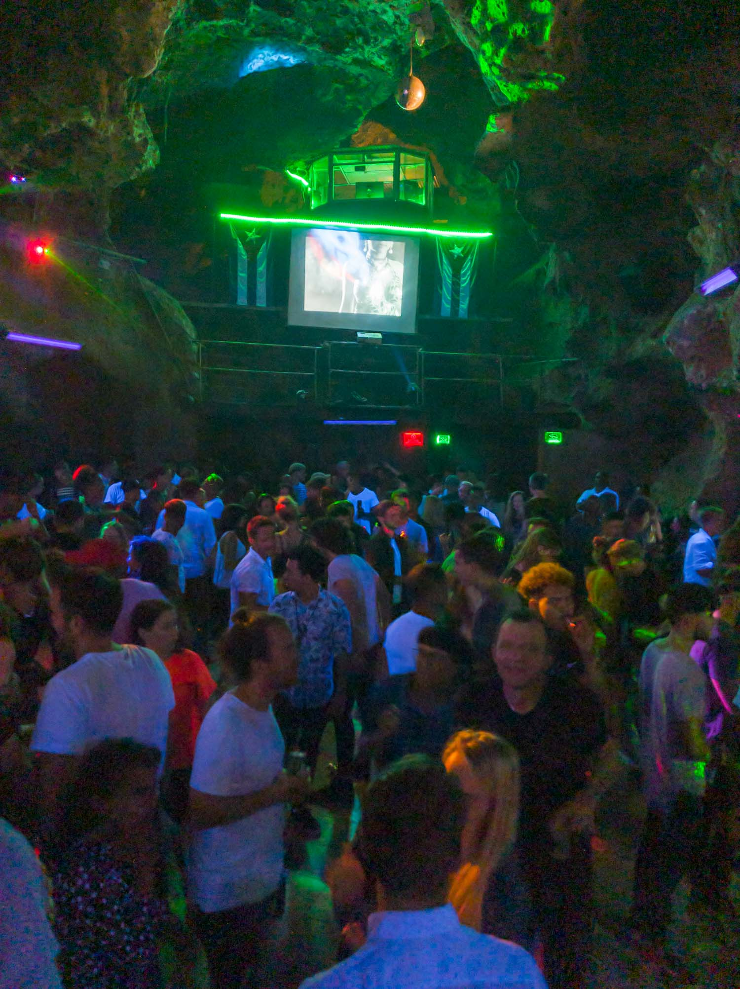 Disco Ayala in Trinidad Cuba is a bar located in a cave.