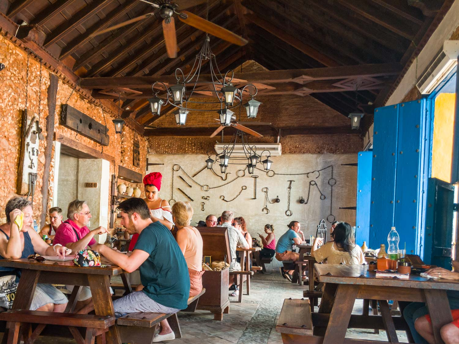La Botija Taberna is one of the best places to eat in Trinidad Cuba