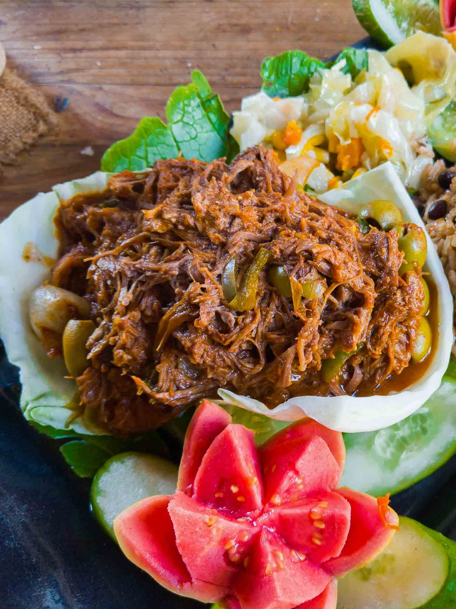 Ropa vieja is just one Panama food you need to try on your next vacation.