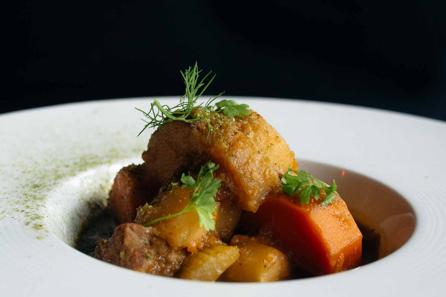 Carne guisada is traditional Panamanian food that is a beef stew.