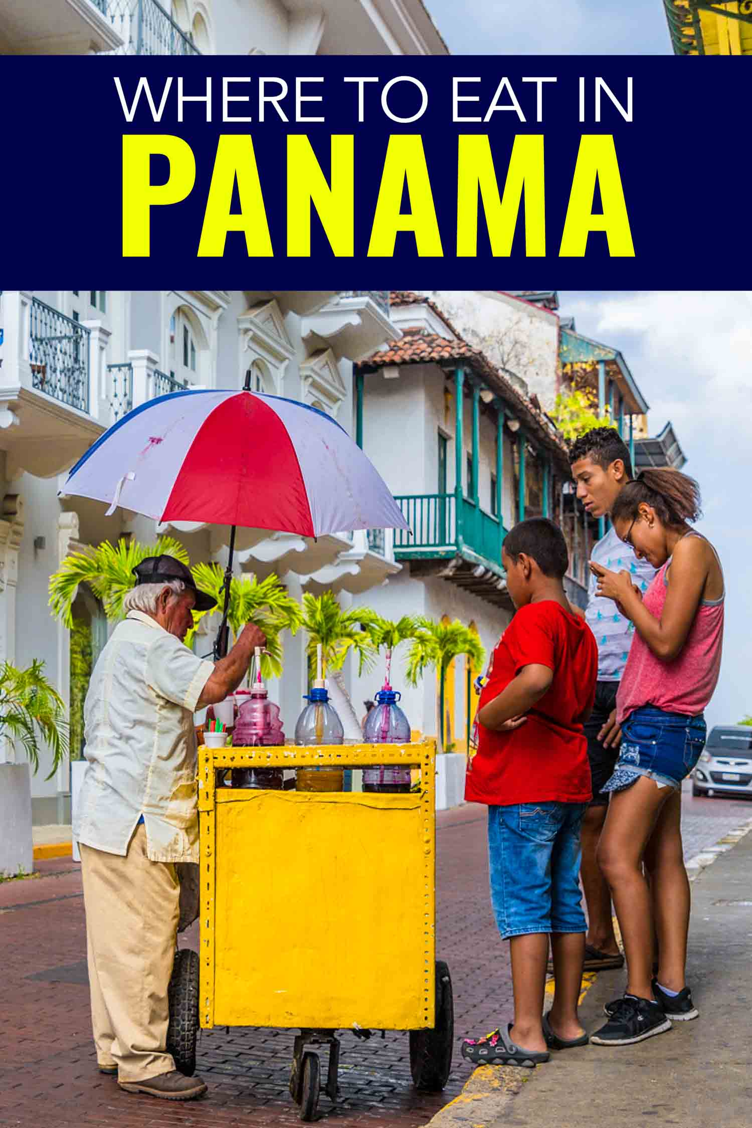 Panamanian food, what to drink and eat in Panama and where to find it. #Panama #Travel #CentralAmerica