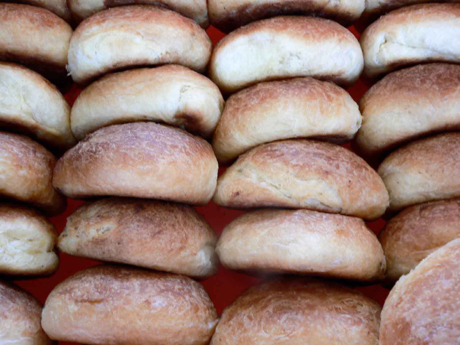 Panama food: Hojaldra is a fried bread recipe from Panama that is so easy to make and common to find in Panama.