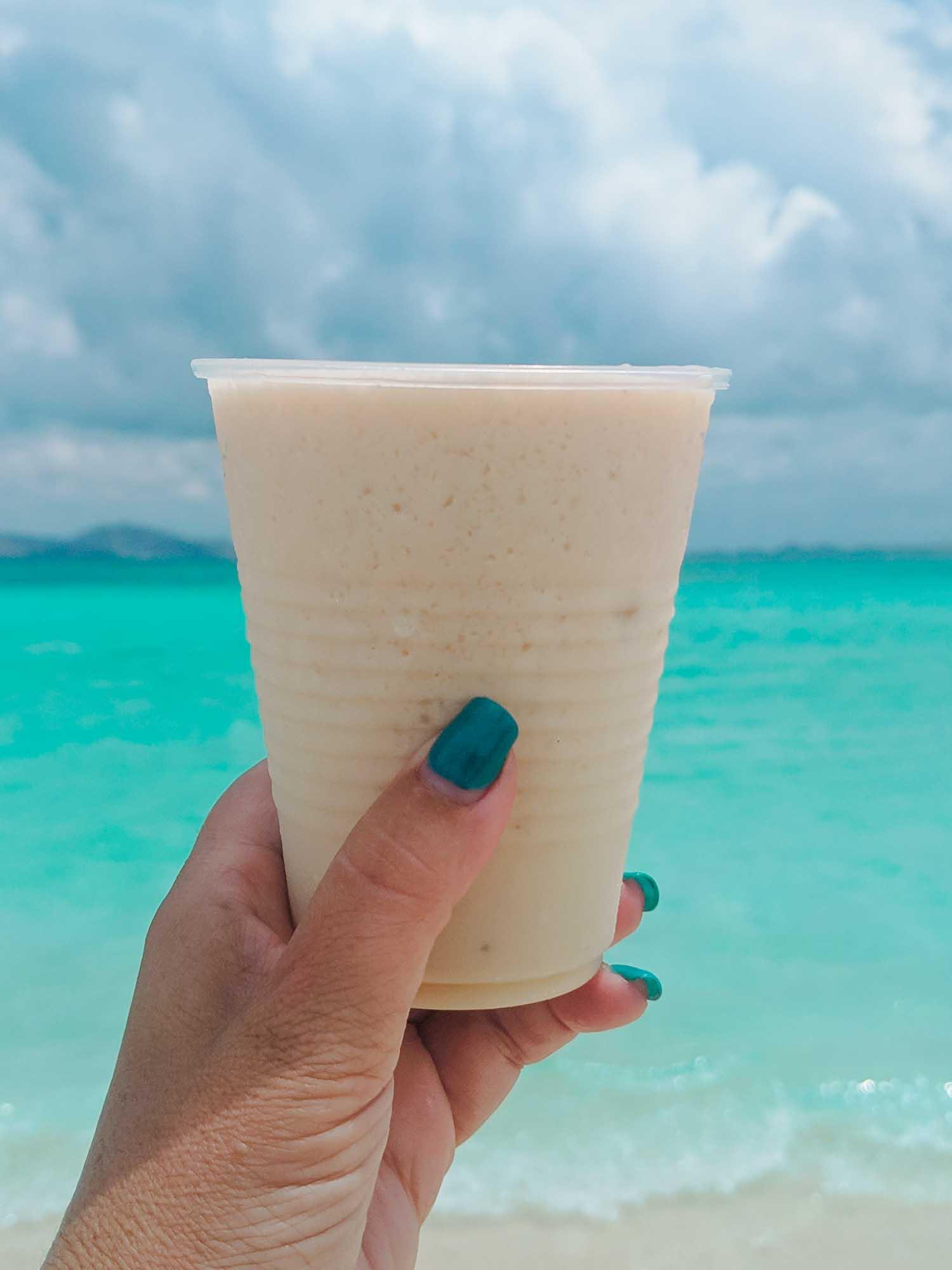 BBC frozen drink baileys banana coconut cocktail