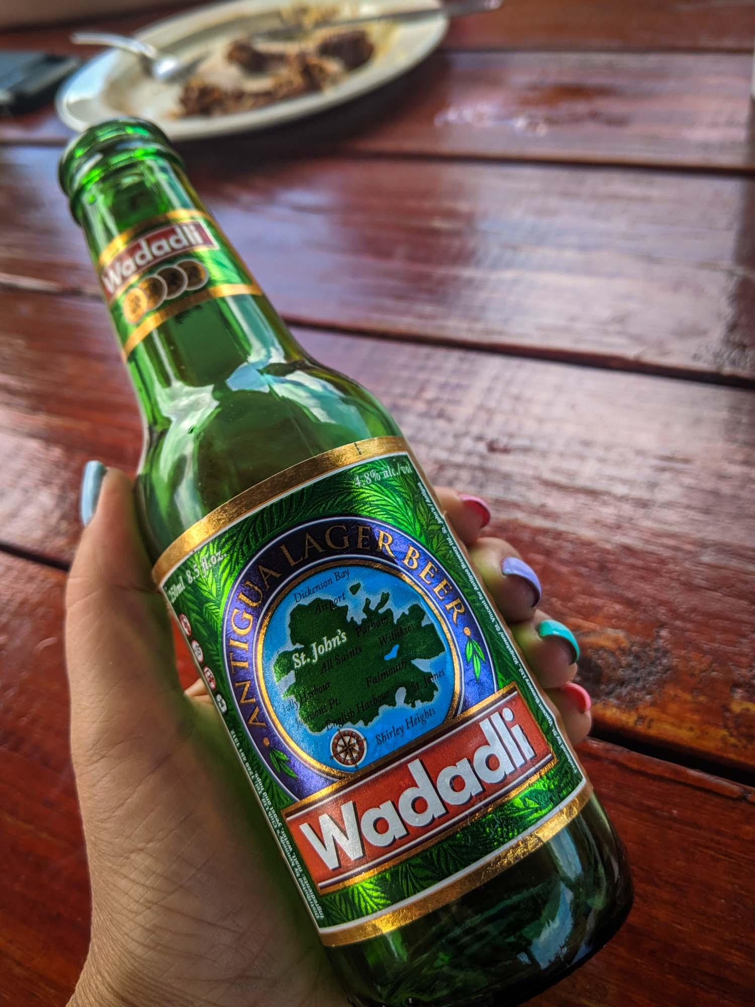 Wadadli beer Antigua