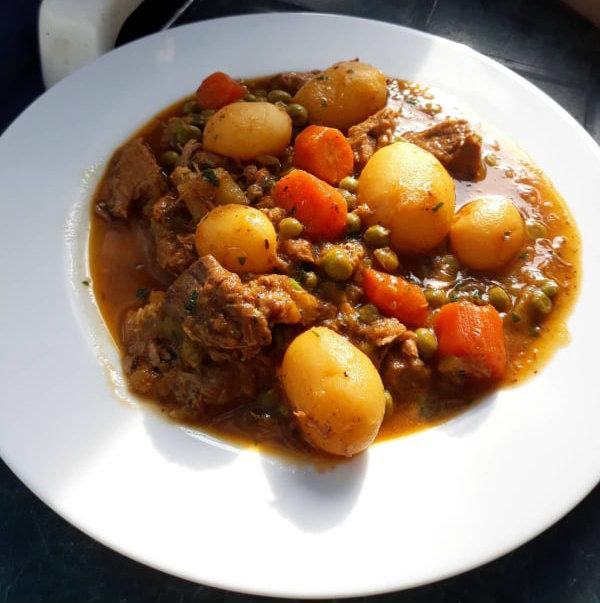 Bosnian lonac stew.