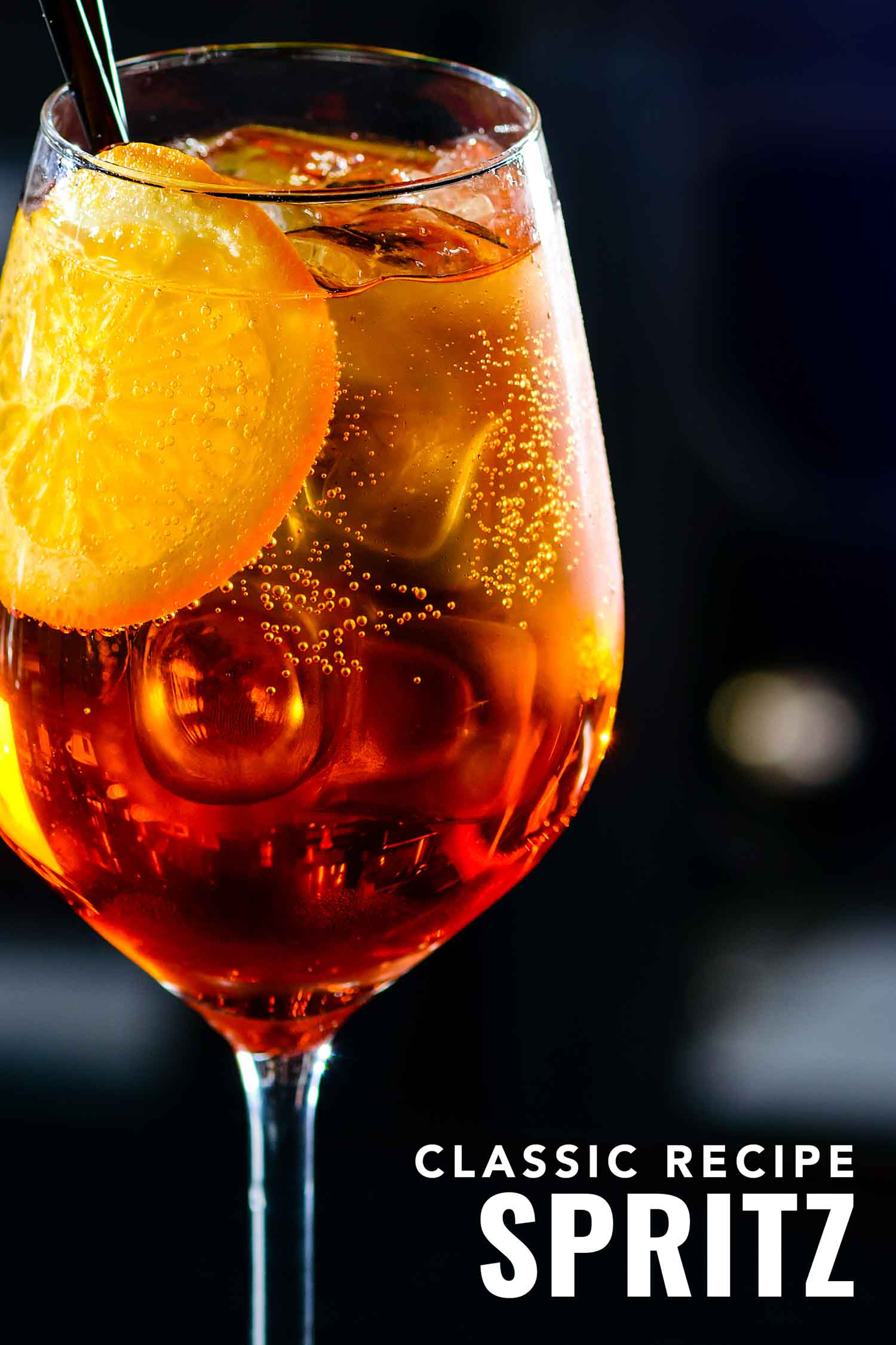 Italian cocktail Aperol spritz