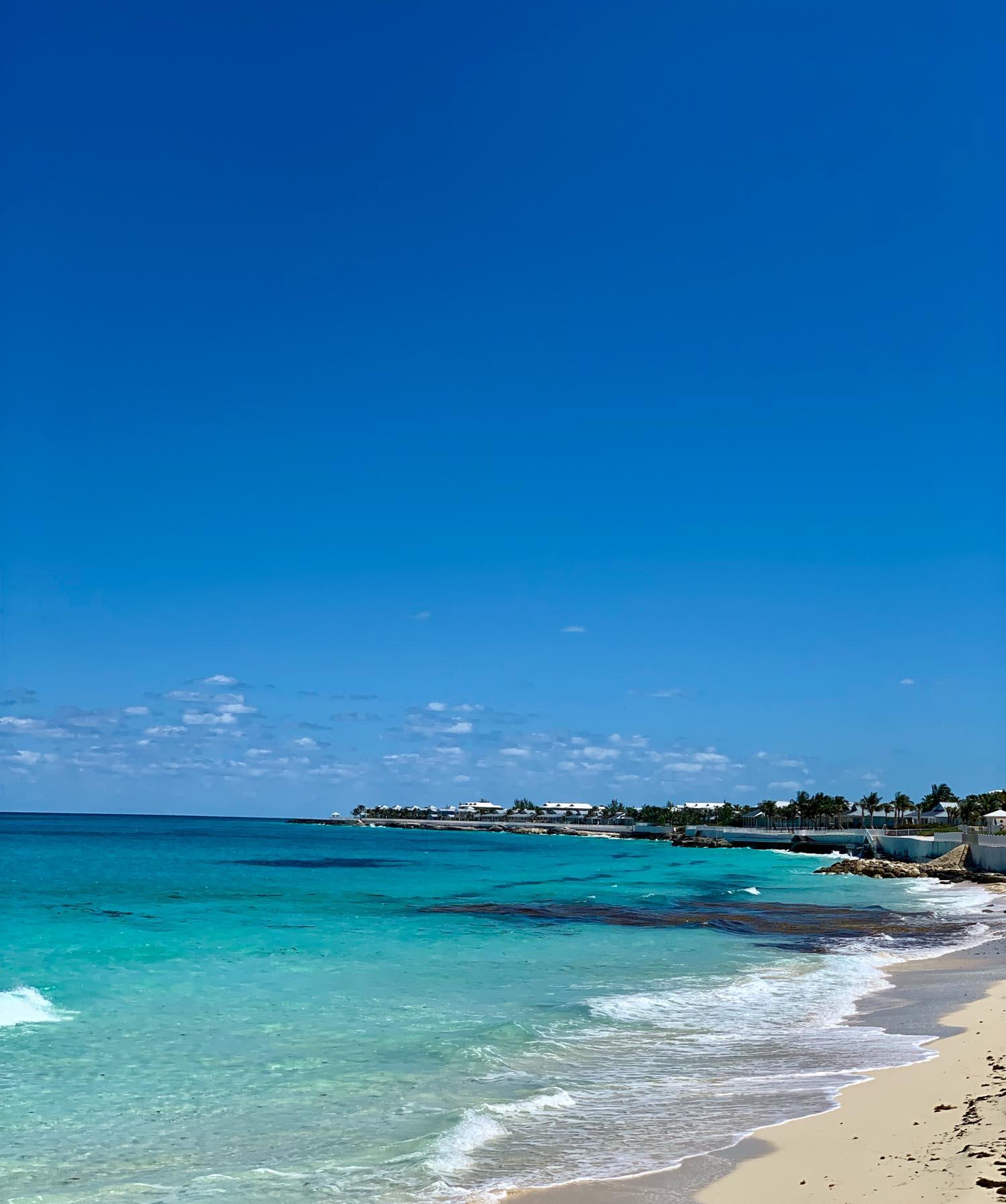 Bimini beach in the Bahamas