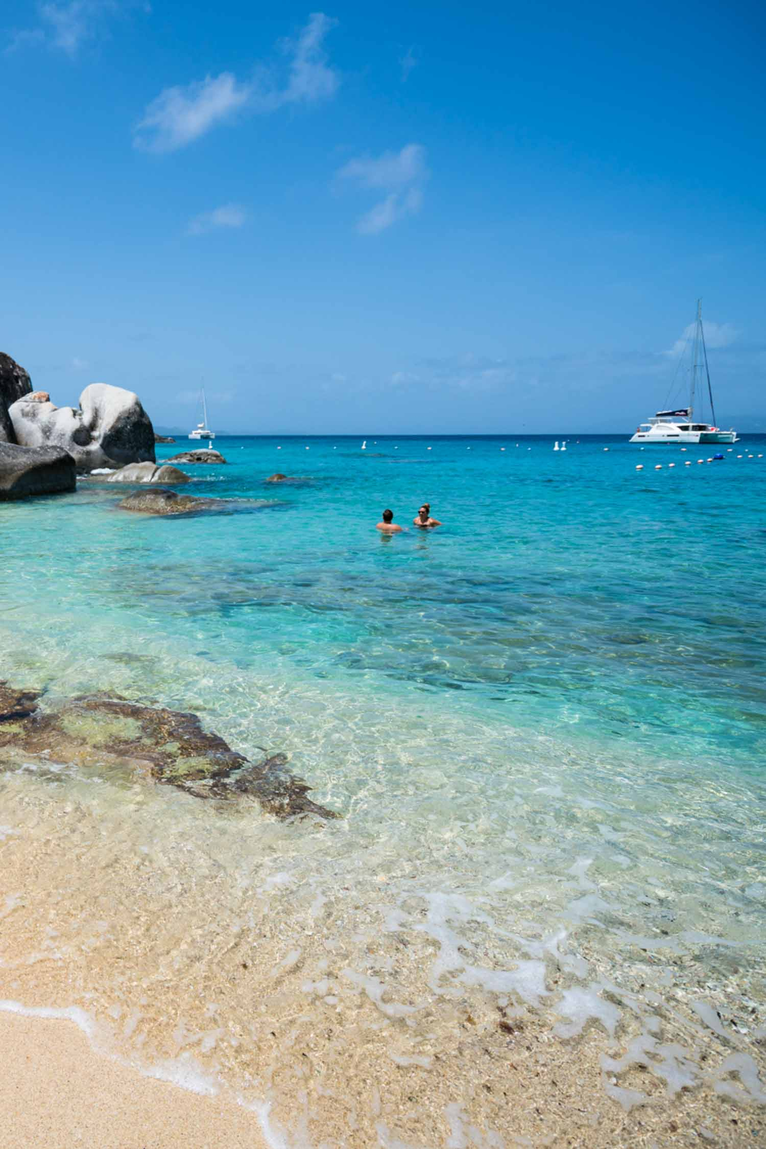 The British Virgin islands have some of the most beautiful beaches in the Caribbean