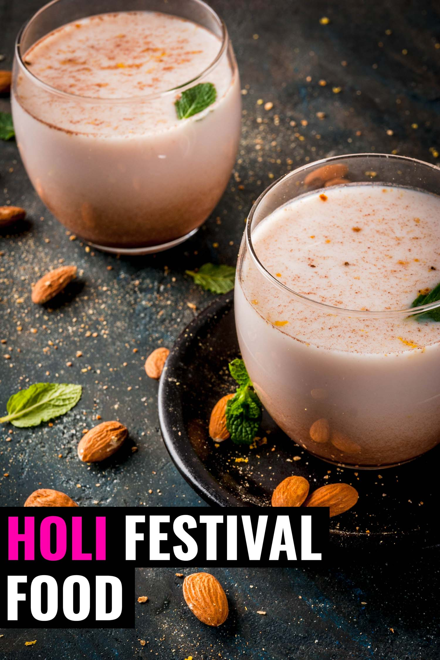 Indian drink for Holi festival