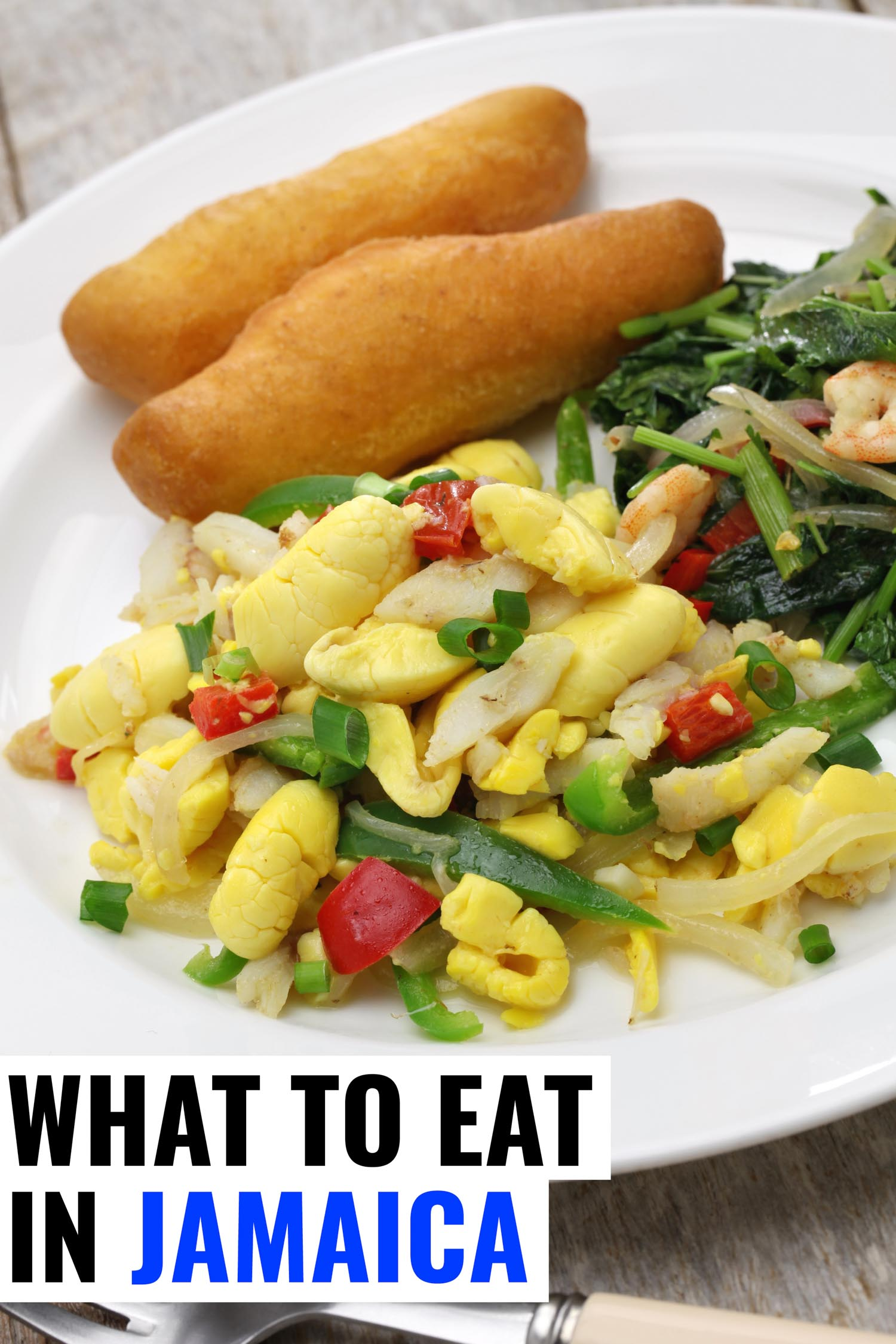 festival akee and salt fish are the most popular Jamaican foods