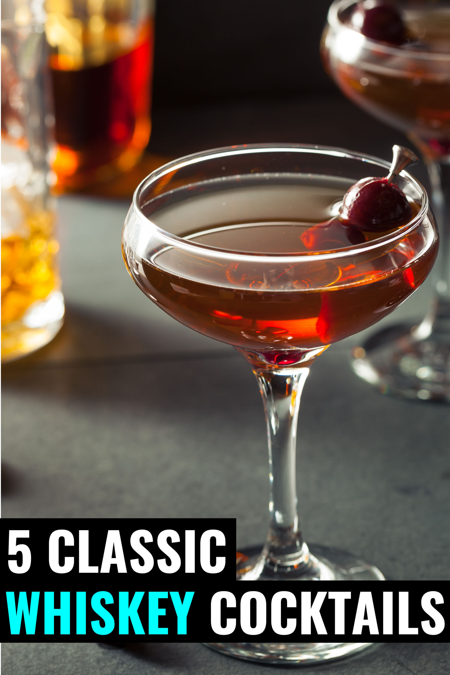 Classic whiskey cocktail