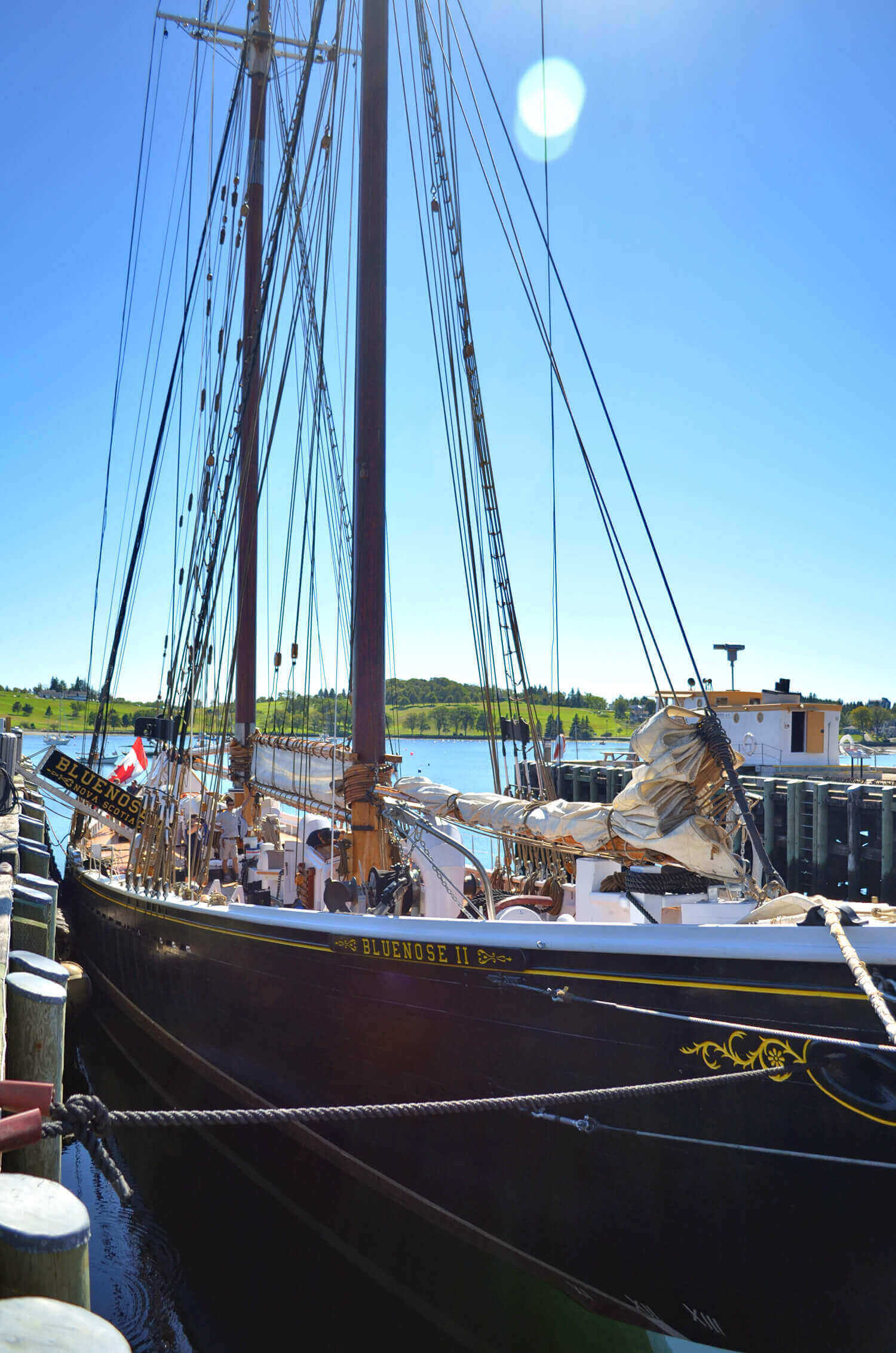 The Bluenose II is one of the best things to do in Nova Scotia