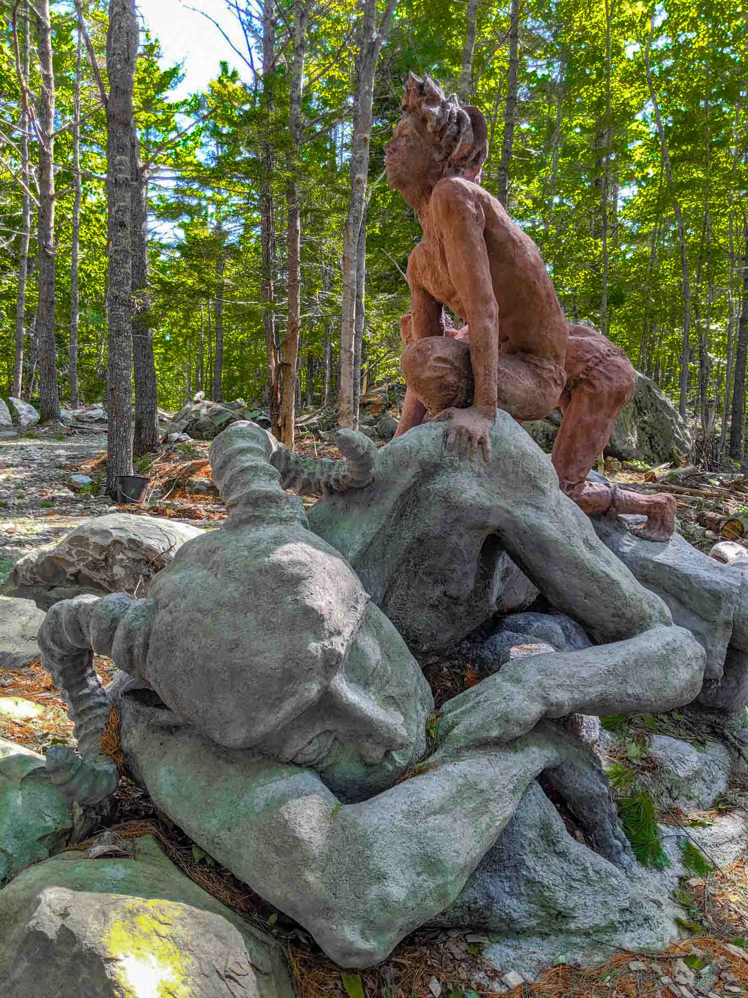 Cosby's Sculpture Forest in Liverpool Nova Scotia