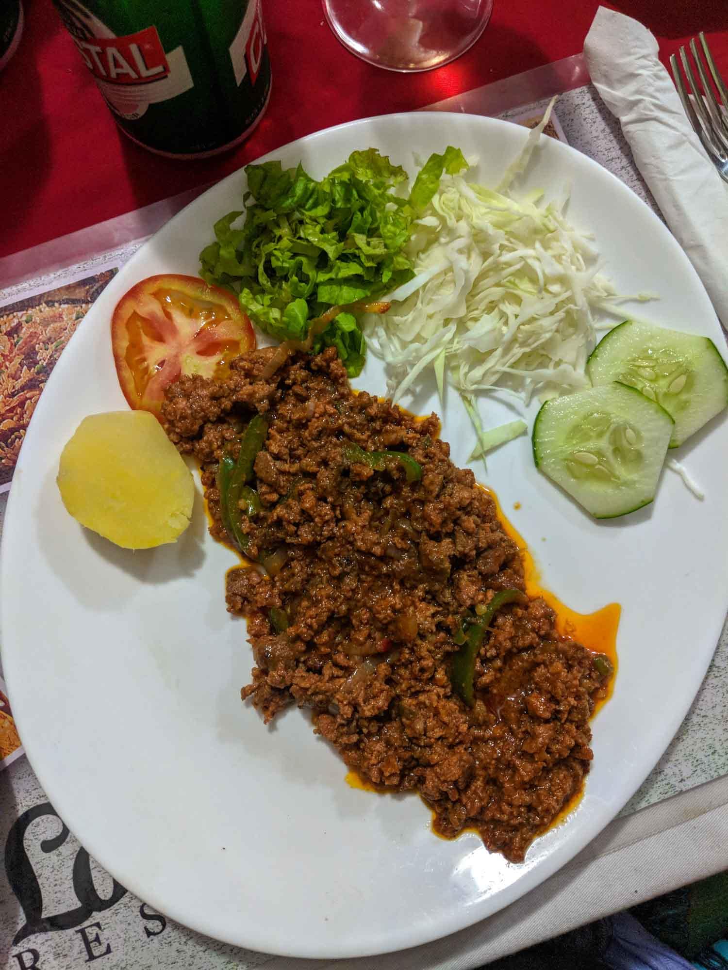 Los Amigos Havana restaurant picadillo