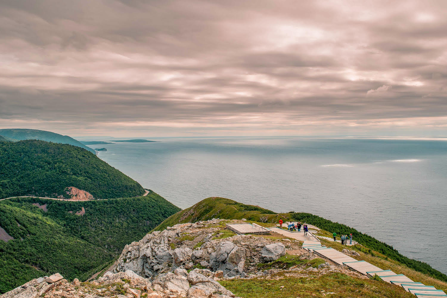 Sky Trail Cape Breton hiking Nova Scotia