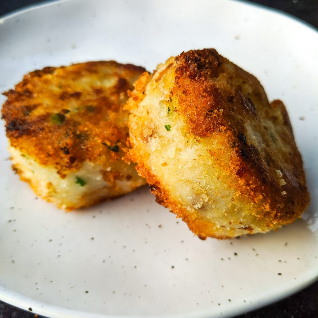 Nova Scotia cod fish cakes