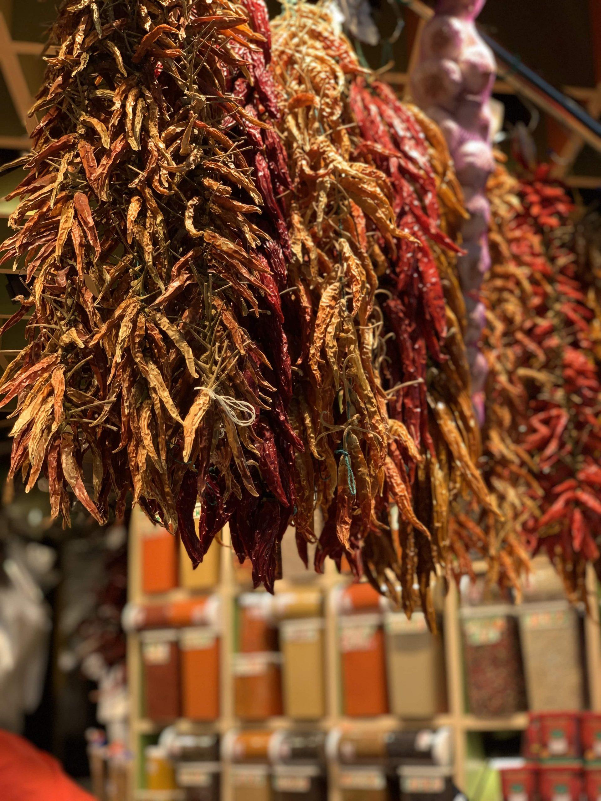 Boqueria Market Spices