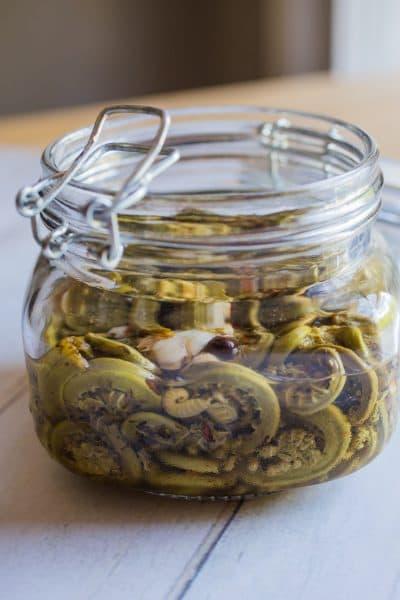 Pickled fiddleheads recipe
