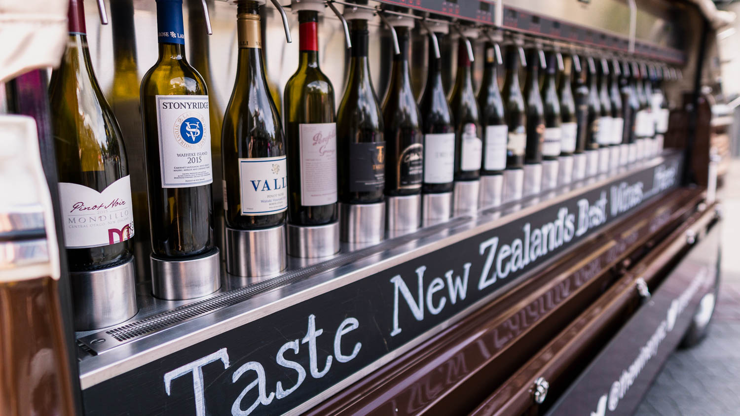 bottles from the best wineries in New Zealand.