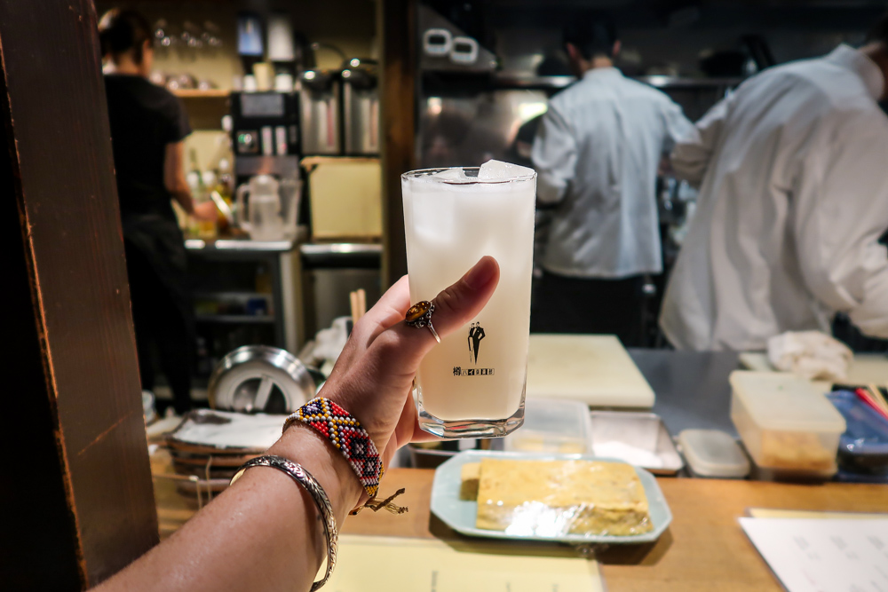 Chūhai cocktail in Japan