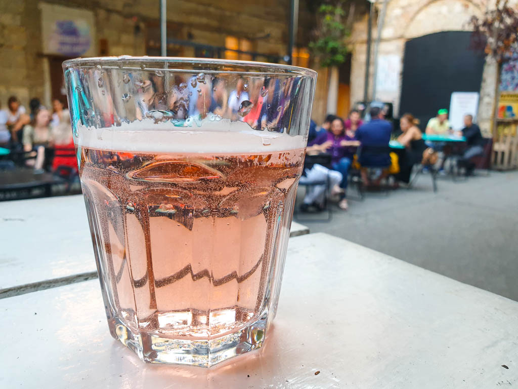 Fröccs From Budapest wine cocktail, common drink in Budapest