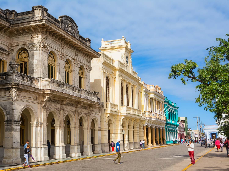 Downtown Santa Clara Cuba