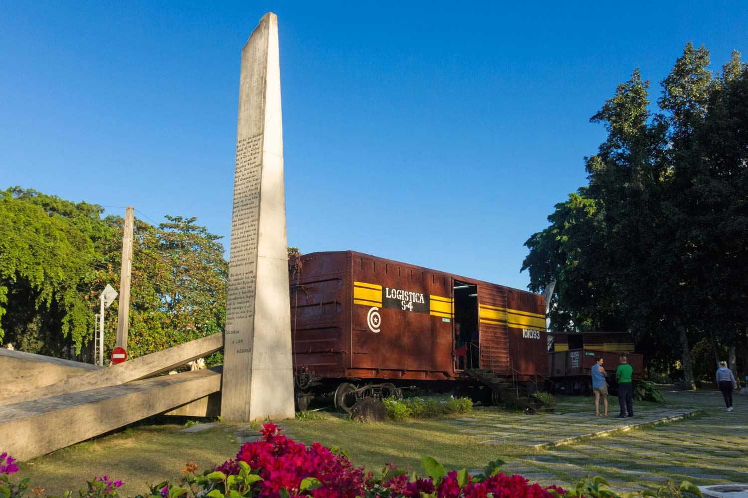 Santa Clara train in Cuba part of the revolution with Chew Guevara