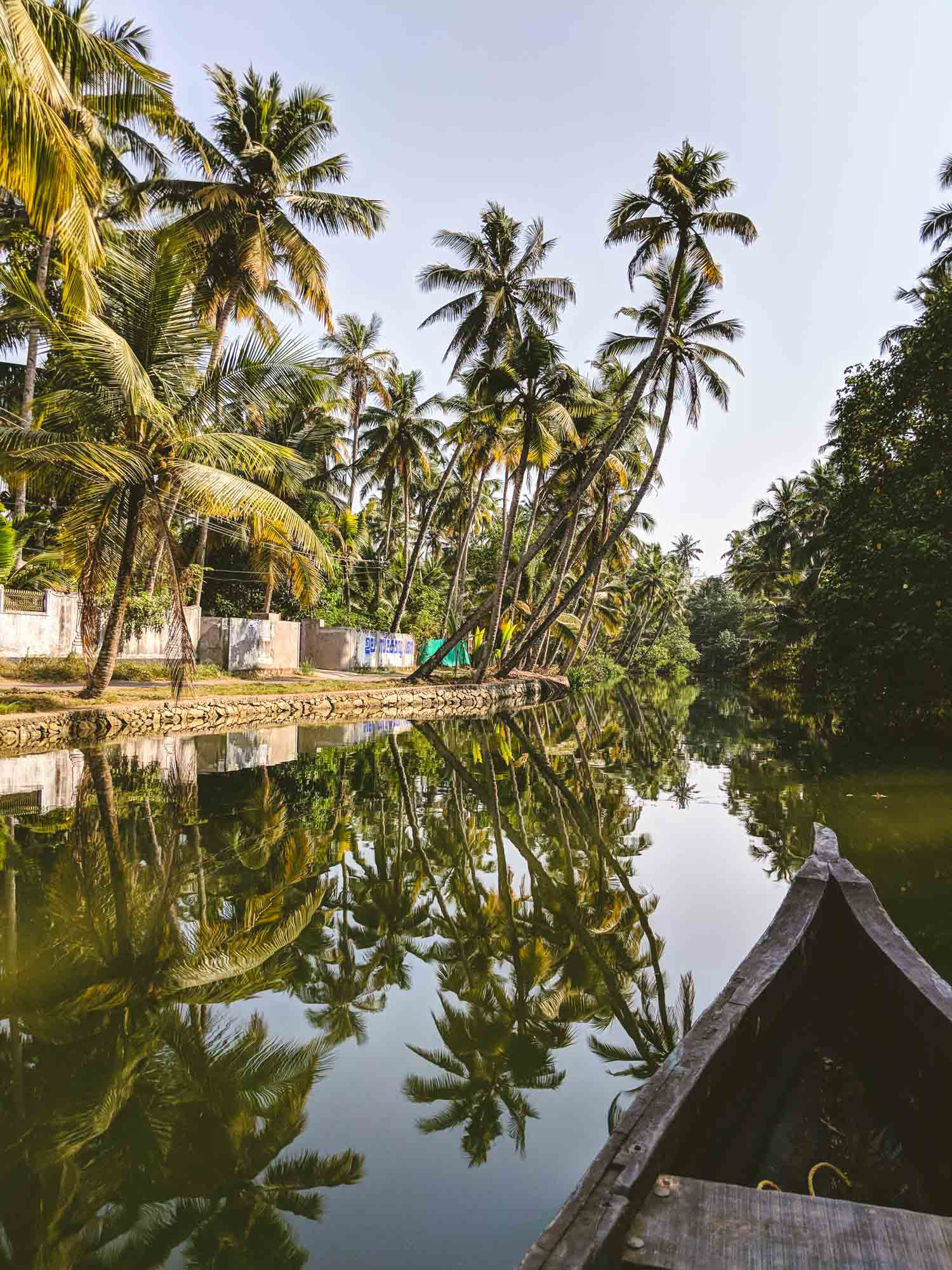 Monroe Islands Kerala from the river