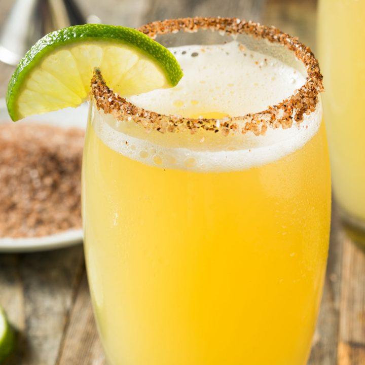 Chelada Beer Cocktail
