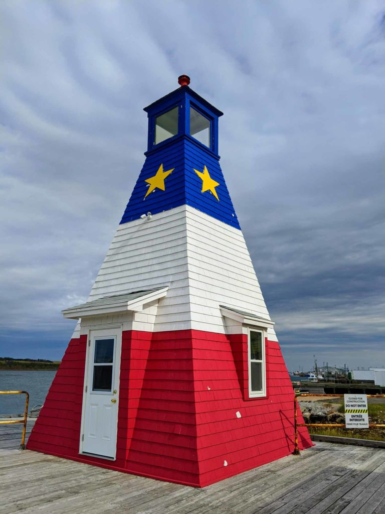 Cheticamp Harbour Range Front Lighthouse