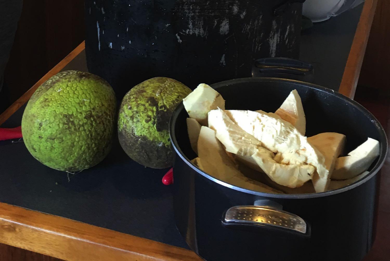 Breadfruit Balls in Seychelles