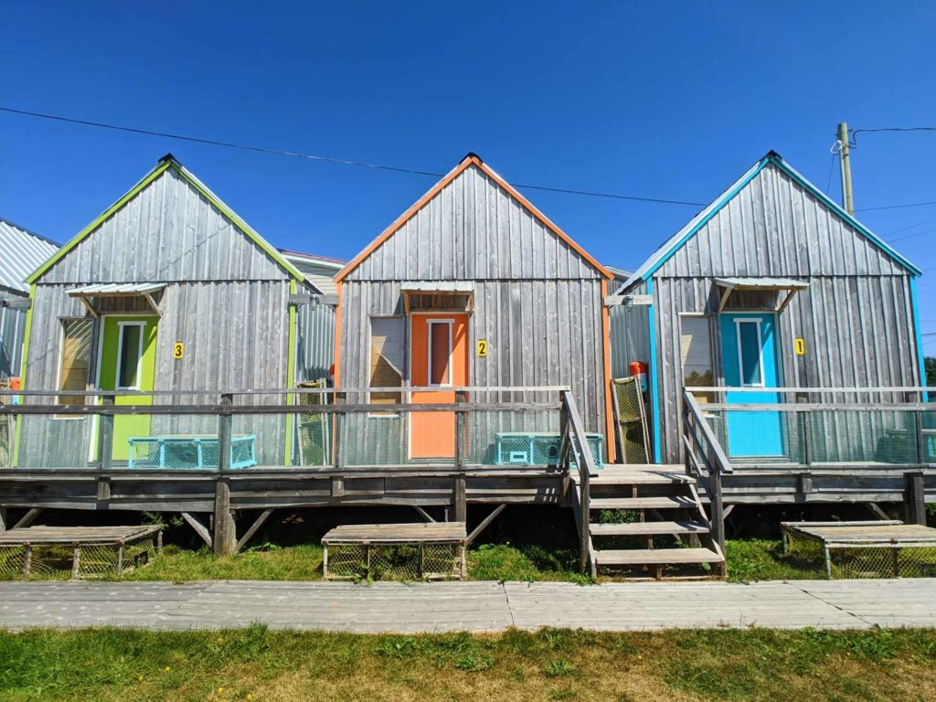 Shanty Stay Cabins in Souris Prince Edward Island