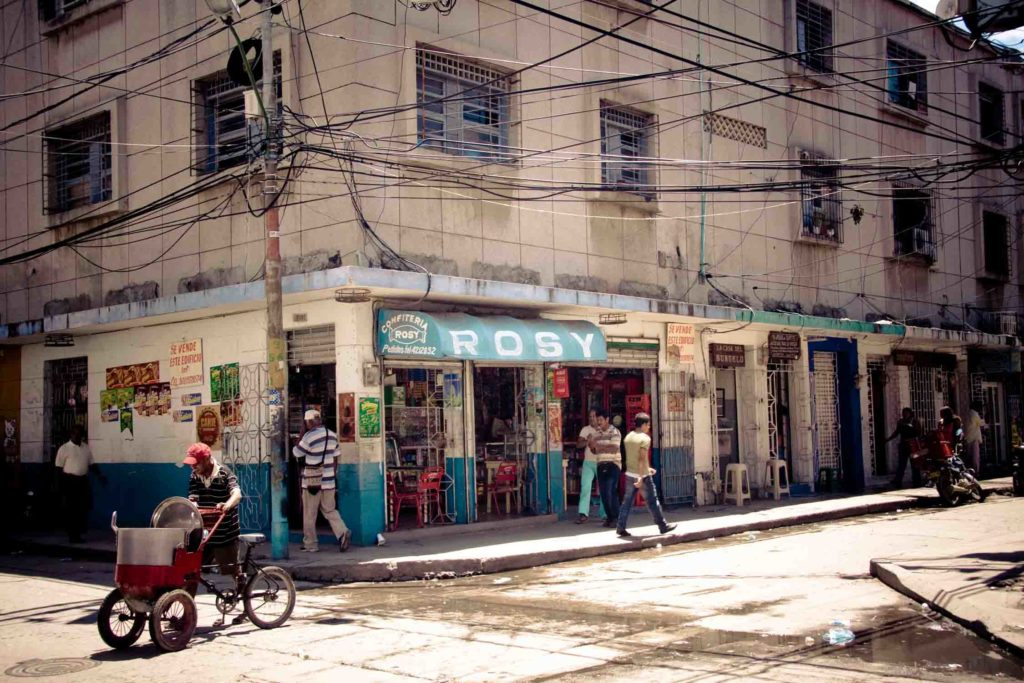 Santa Maria Colombia street corner